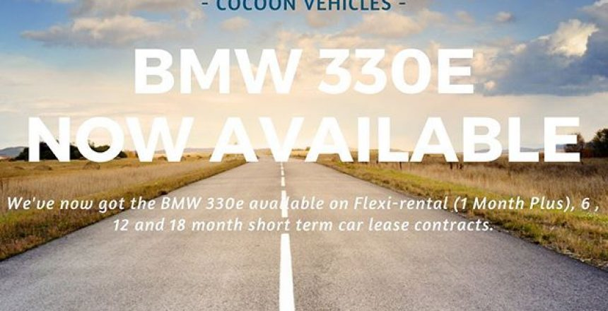We've now got the BMW 330e PHEV M Sport available on our Flexi-rental agreements as well as our fixed 6, 12 and 18 month car leases. Find out more on our website!