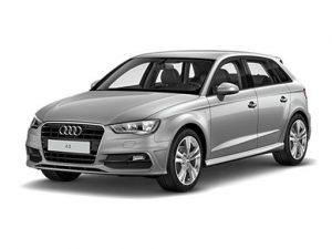 Audi A3 Sportback on 12 month short term car lease.