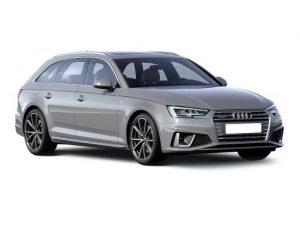 Audi A4 Avant on 9 month short term car lease.