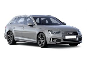 Audi A4 Avant on 9 month short term car lease.