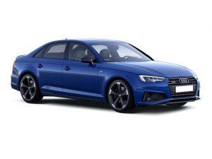 Audi A4 Saloon on 6 month short term car lease.