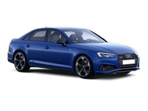 Audi A4 Saloon on 6 month short term car lease.