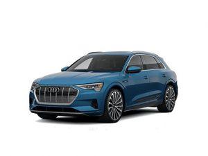 Audi E-Tron Estate on 9 month short term car lease.