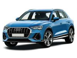 Audi Q3 Sportback on 12 month short term car lease.