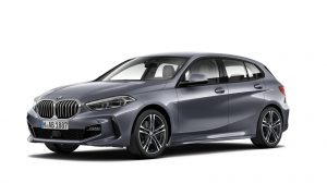 BMW 1 Series Hatchback on 5 month short term car lease.