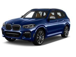 BMW X3 Estate on 12 month short term car lease.
