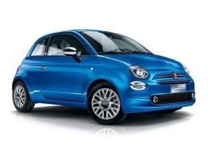 Fiat 500 Hatchback 1.2 Lounge 3dr Manual [LC] on 6 short term car lease and includes Apple CarPlay (May require activation depending on manufacturer