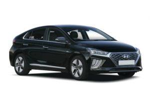 Hyundai Ioniq Hatchback on 12 month short term car lease.