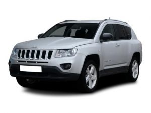 Jeep Compass SW 1.6 Multijet 120 Longitude 2WD 5dr Manual [LC] on 9 short term car lease and includes Uconnect Media Centre