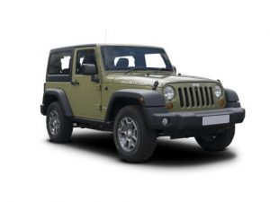 Jeep Wrangler Hard Top on 6 month short term car lease.
