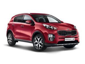 Kia Sportage Estate on 6 month short term car lease.