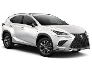 Lexus NX Estate 300h 2.5 CVT [Pan Roof] 5dr Automatic [EL] on 6 short term car lease and includes Hybrid Technology