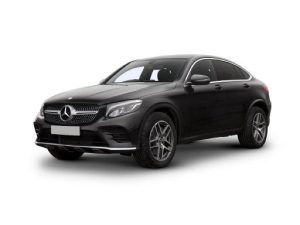 Mercedes-Benz GLC Coupe on 9 month short term car lease.