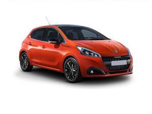 Peugeot 208 Hatchback on 12 month short term car lease.