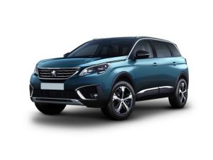Peugeot 5008 Estate 1.5 BlueHDi Allure 5dr Manual [LC] on 9 short term car lease and includes Navigation System