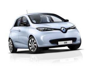 Renault Zoe Hatchback on 12 month short term car lease.