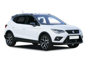 SEAT Arona Hatchback on 5 month short term car lease.