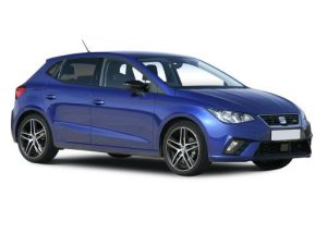 SEAT Ibiza Hatchback on 12 month short term car lease.