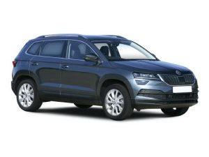 Skoda Karoq Estate on 7.5 month short term car lease.