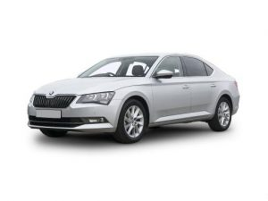 Skoda Superb Hatchback 2.0 TDI CR SE 5dr Manual [VS] on 7.5 short term car lease and includes Apple CarPlay