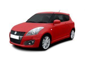Suzuki Swift Hatchback on 12 month short term car lease.