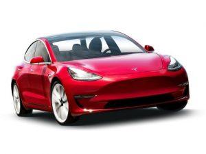 Tesla Model 3 Saloon on 12 month short term car lease.