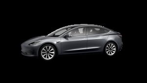 Tesla Model 3 Saloon on 12 month short term car lease.