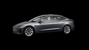 Tesla Model 3 Saloon on 18 month short term car lease.