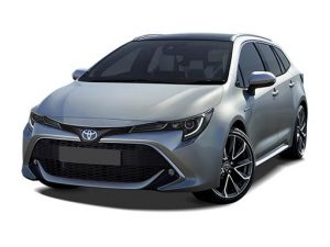 Toyota Corolla Estate 1.8 VVT-I Hybrid Icon Tech CVT 5dr Automatic [EL] on 5 short term car lease and includes Hybrid Technology