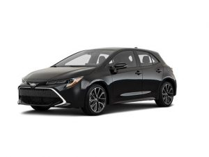 Toyota Corolla Hatchback 1.8 VVT-I Hybrid Icon Tech CVT 5dr Automatic [EL] on 5 short term car lease and includes Hybrid Technology