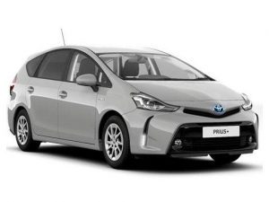 Toyota Prius+ Estate 1.8 VVTi Icon TSS CVT 5dr Automatic [LC] on 6 short term car lease and includes Hybrid Short Term Car Lease