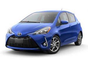 Toyota Yaris Hatchback on 12 month short term car lease.