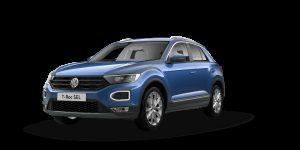 Volkswagen T-Roc Hatchback on 6 month short term car lease.